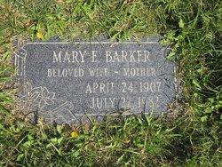 Mary Etta <I>Marsh</I> Barker