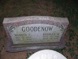 Barbara M Goodenow