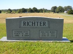 Elva Inez <I>Burks</I> Richter