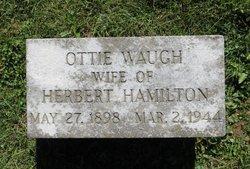 """Otta """"Ottie"""" <I>Waugh</I> Hamilton"""
