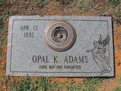 Opal Kathleen <I>Black</I> Adams
