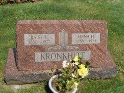 Daisy H. Kronkhite