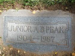 """Andrew B. """"Junior"""" Peak"""