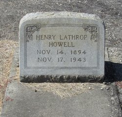 Henry Lathrop Howell