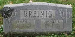 """Frances Elizabeth """"Fran"""" <I>Cyprych</I> Breinig"""