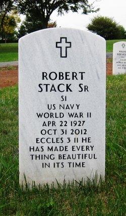 Robert Leverne Stack, Sr
