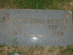 James Lewis Rowe
