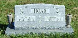 Raymond Lester Hoar