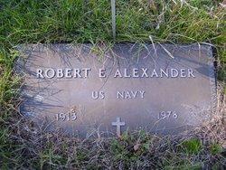 Robert E Alexander