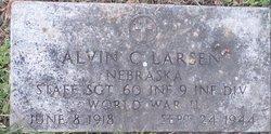 Sgt Alvin C. Larsen