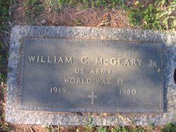 Dr William Clyde McGeary Jr.
