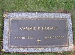 Cammie <I>Pickett</I> Holmes