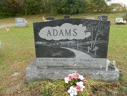 Rachael <I>Williams</I> Adams