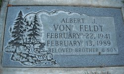 Albert J VonFeldt