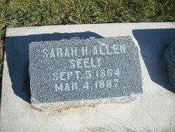 Sarah H <I>Allen</I> Seely