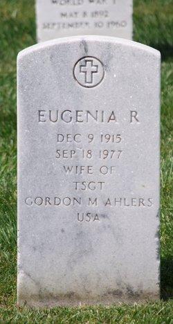 Eugenia R Ahlers