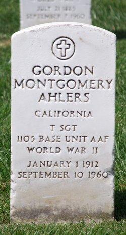 Gordon Montgomery Ahlers