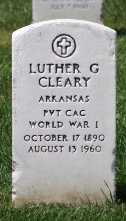 Luther Gradey Cleary