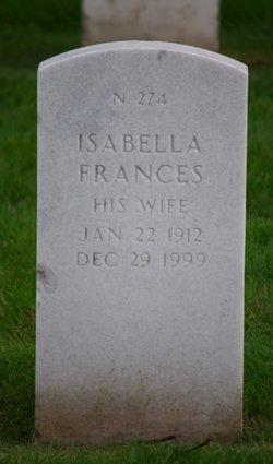 Isabella Frances Crowe