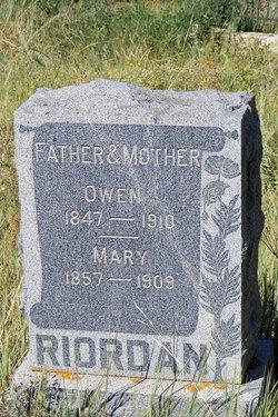 Mary Ellen <I>Grant</I> Riordan