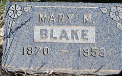Mary M. <I>McKinley</I> Blake