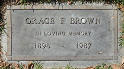 Grace Florence <I>Hicks</I> Brown