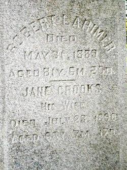 Jane <I>Crooks</I> Larimer