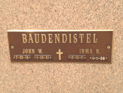 John William Baudendistel