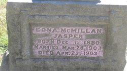 Edna <I>McMillan</I> Jasper