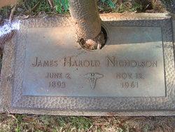 Dr James Harold Nicholson