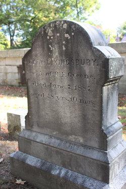 Mary E. <I>Kingsbury</I> Greene