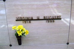 Virginia Hazel <I>Lowe</I> Reichert