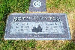 Willard Pixton McEwan