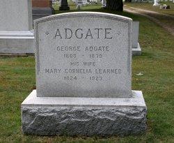 Mary Cornelia <I>Learned</I> Adgate