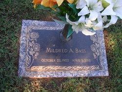 Mildred A Bass