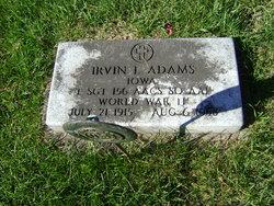 Irvin L Adams