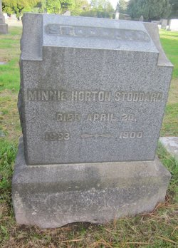 Minnie <I>Horton</I> Stoddard
