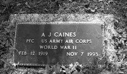 """Arthur J. """"A. J."""" Caines"""