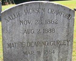 Sallie <I>Jackson</I> Crawford