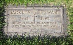 Jacklyn Lee <I>Hoff</I> Stewart