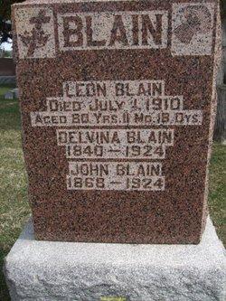 Delvina <I>Leblanc</I> Blain