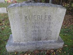 Erna <I>Meier</I> Kuebler