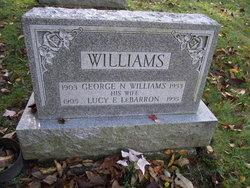 Lucy <I>LeBarron</I> Williams