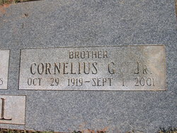 Cornelius Griffin Harwell Jr.