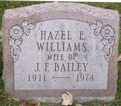 Hazel E <I>Williams</I> Bailey