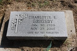 Charlotte E Grigsby