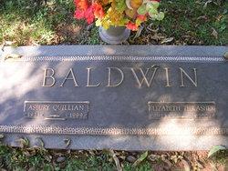 Sarah Elizabeth <I>Thrasher</I> Baldwin