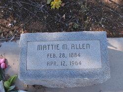 Mattie M Allen