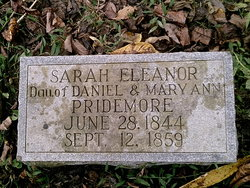 Sarah Eleanor Pridemore