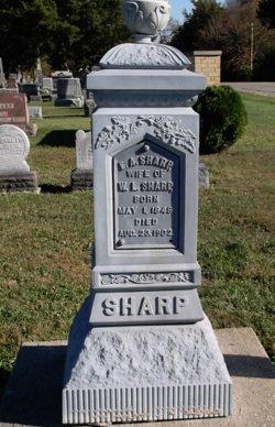 Elizabeth A. <I>Marshall</I> Sharp